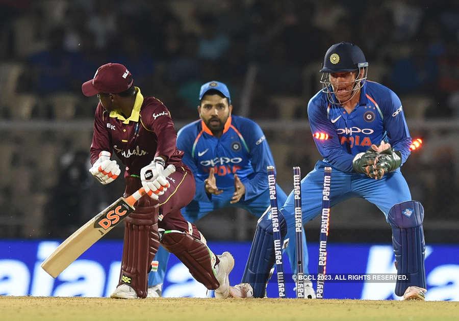Sharma, Rayudu tons set up India's 224-run ODI victory