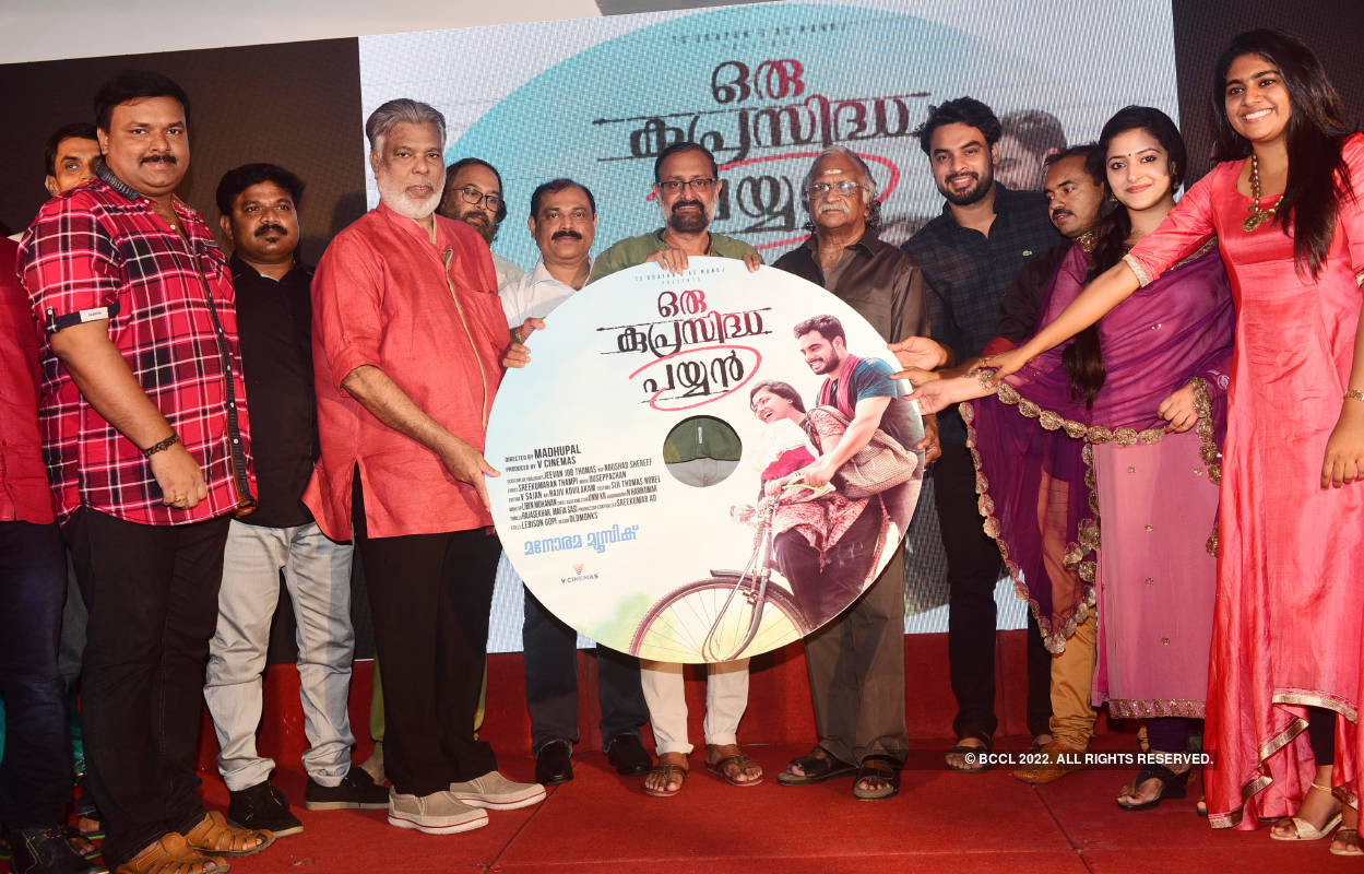 Oru Kuprasidha Payyan: Audio launch
