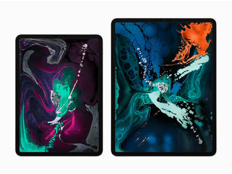 iPad Pro (2018) models are the first-ever iOS devices to support USB Type-C ports, and the first to ditch Lightning Port.