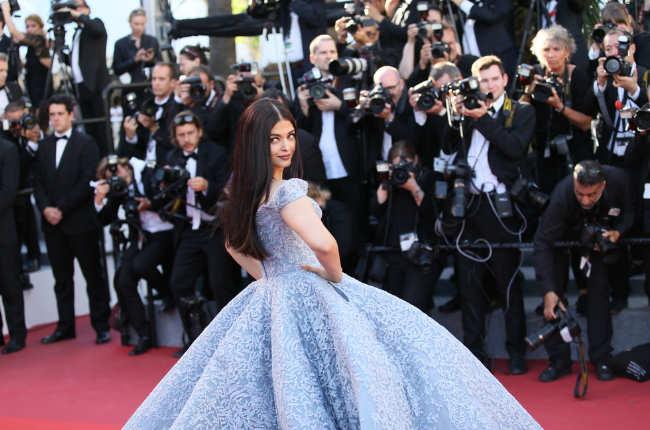 Aishwarya Cinderella gown