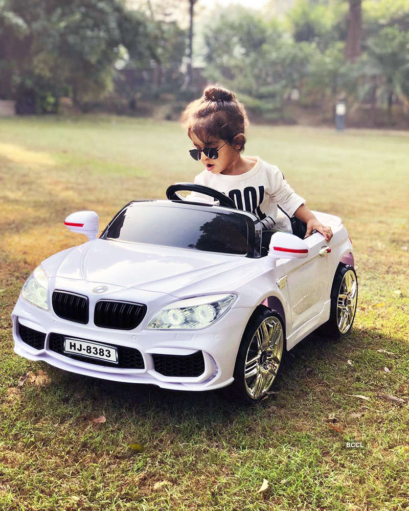 These adorable pictures of Asin Thottumkal's daughter Arin are too cute for words