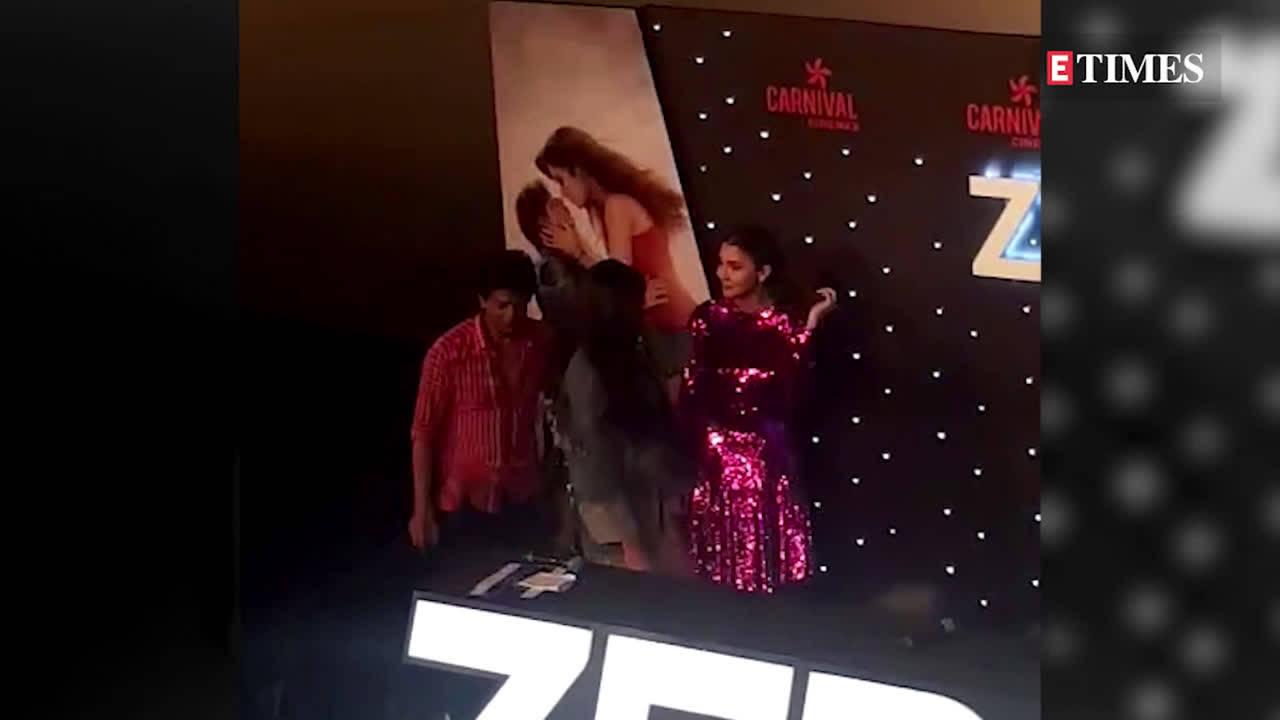 'Zero' trailer launch: Shah Rukh Khan celebrates birthday with Katrina Kaif and Anushka Sharma