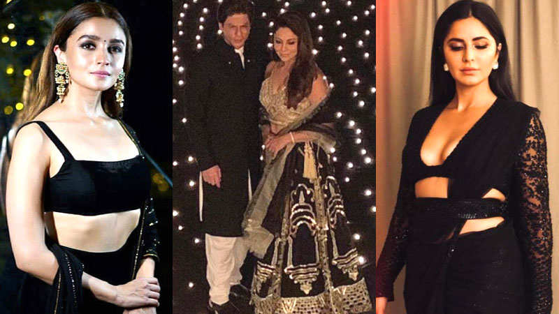 Bollywood celebs dazzle at Shah Rukh Khan's pre-Diwali party