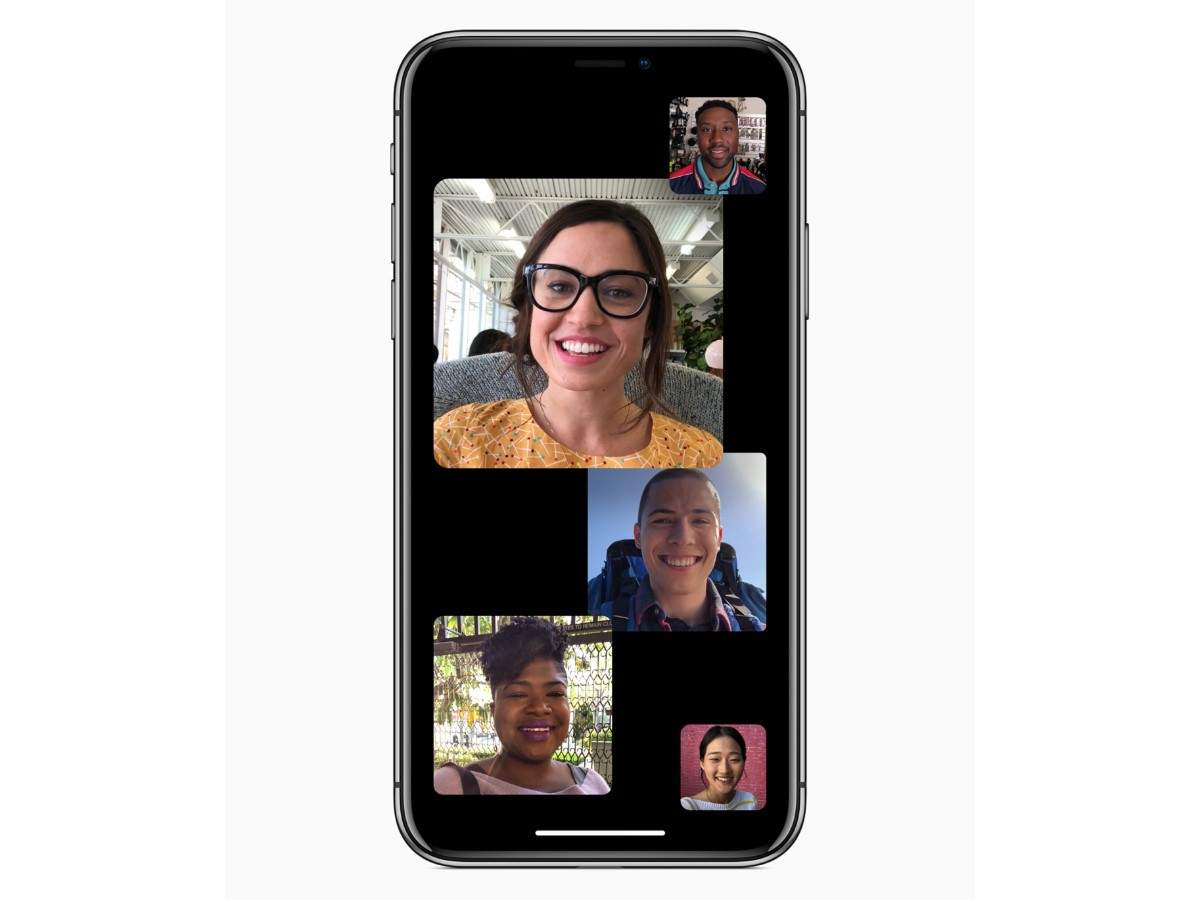 group facetime: How to use the new group FaceTime feature in iPhones and  iPads | Gadgets Now