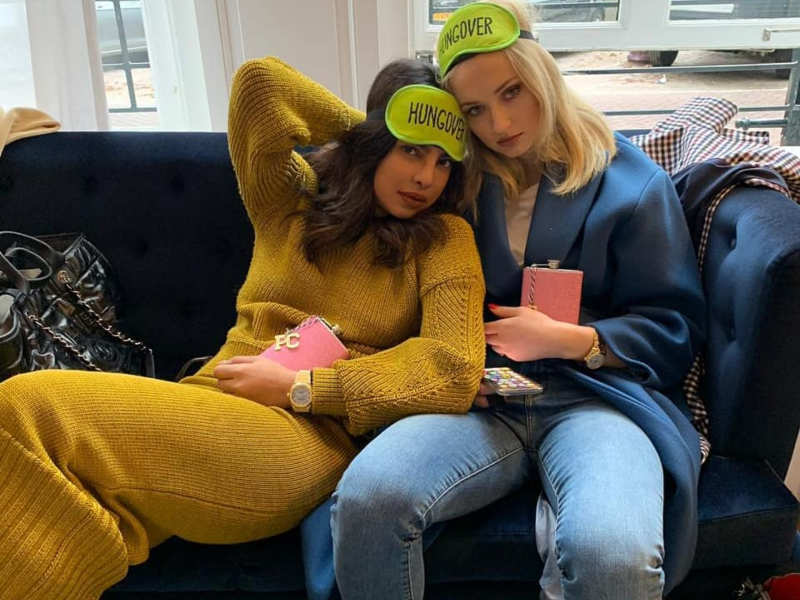 Priyanka Chopra Shares 'the Morning After' Photo With Soon To Be Sister-in-law Sophie Turner