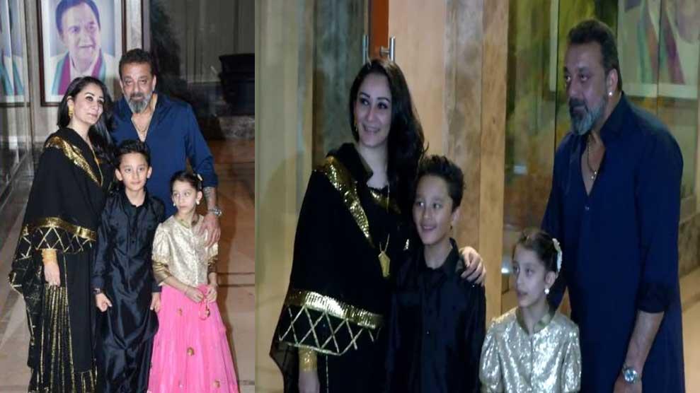 Sanjay Dutt hosts grand Diwali bash