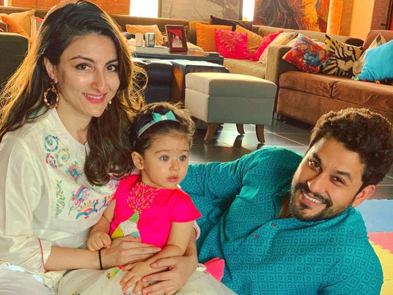 Soha Ali Khan shares an adorable post with hubby Kunal Kemmu and daughter Inaaya Naumi Kemmu