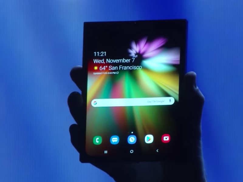 Samsung's shows its foldable phone: Launch, features and more