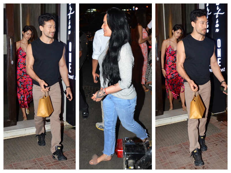 Disha Patani's Dinner Date With Tiger Shroff And His Mother Ayesha
