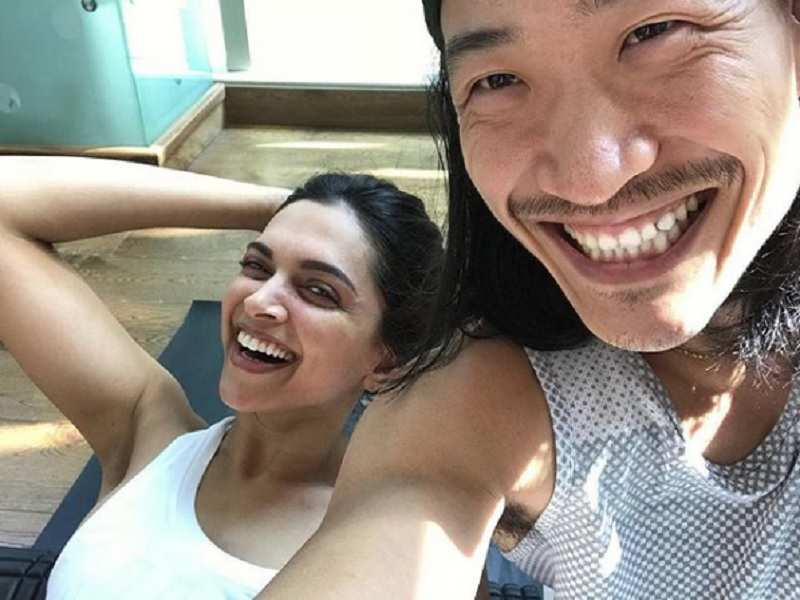 Photo: Trainer teases Deepika Padukone for her last workout as a single lady - Bollywood celebs' Instagram pics you should not miss!  | The Times of India