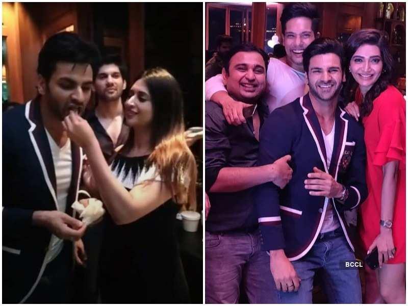 Qayamat Ki Raat's actor Vivek Dahiya celebrates his birthday with wife Divyanka and friends; see pics  | The Times of India