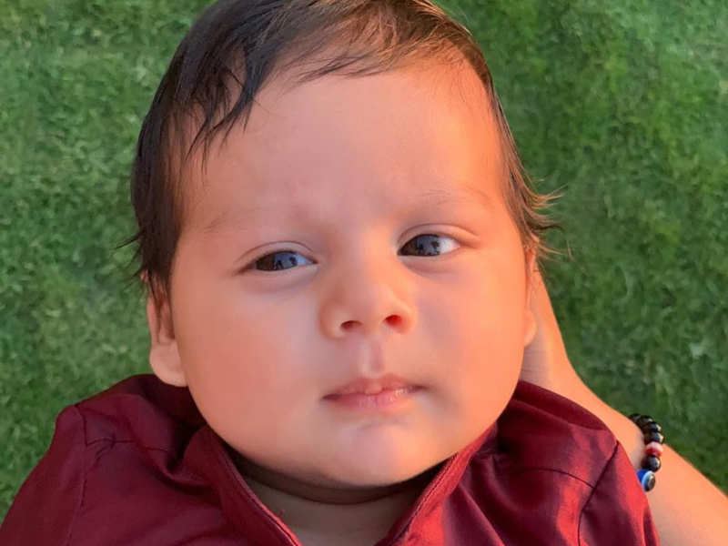 Mira Rajput Shares The First Picture Of Son Zain Kapoor