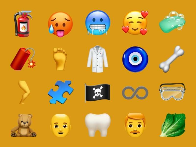 Here are new emojis that you can now use on your smartphones