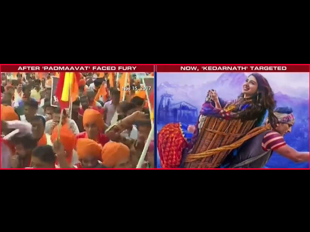 BJP leader demands 'Kedarnath' ban