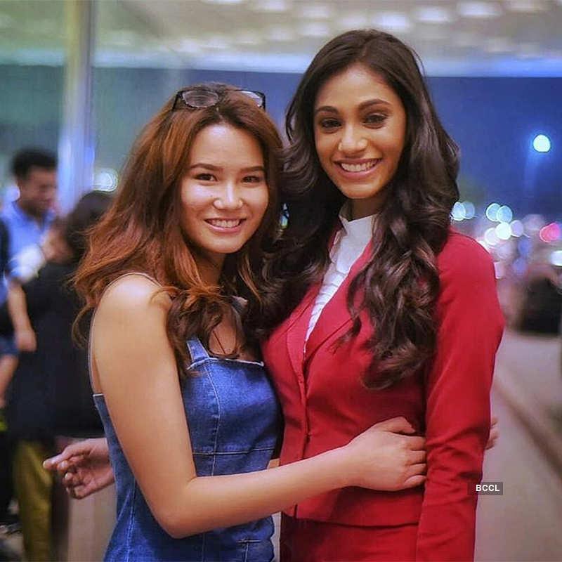 Anukreethy Vas leaves for Miss World 2018