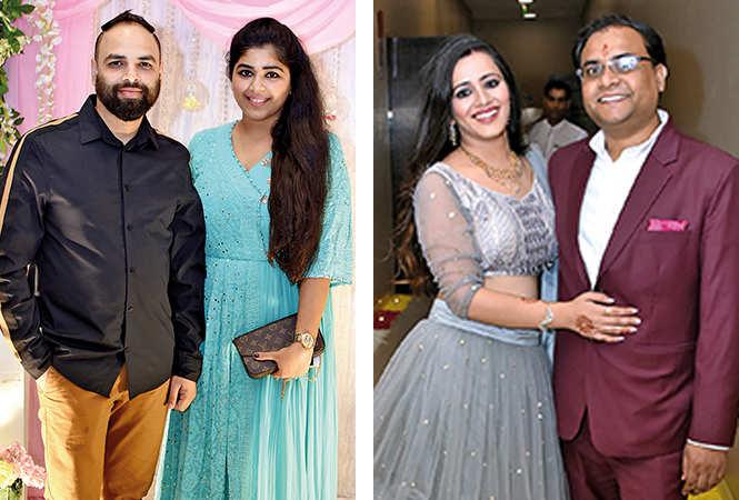 (L) Dheeraj and Sonam (R) Dr Tanya and Dr Prashant (BCCL/ Farhan Ahmad Siddiqui)