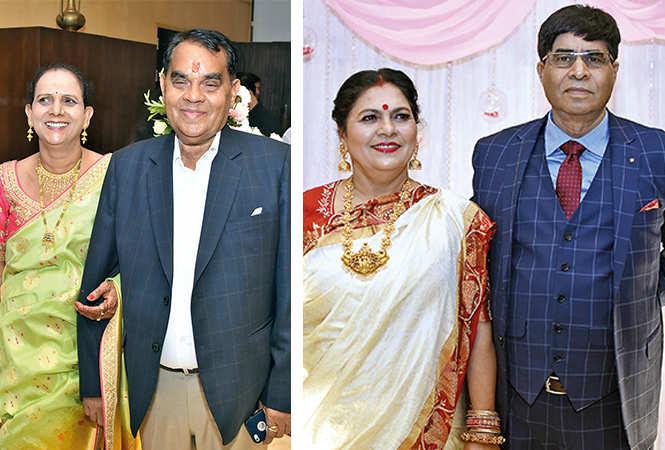 (L) Urmila and Krishna (R) Alka and Muneendra Yadav (BCCL/ Farhan Ahmad Siddiqui)
