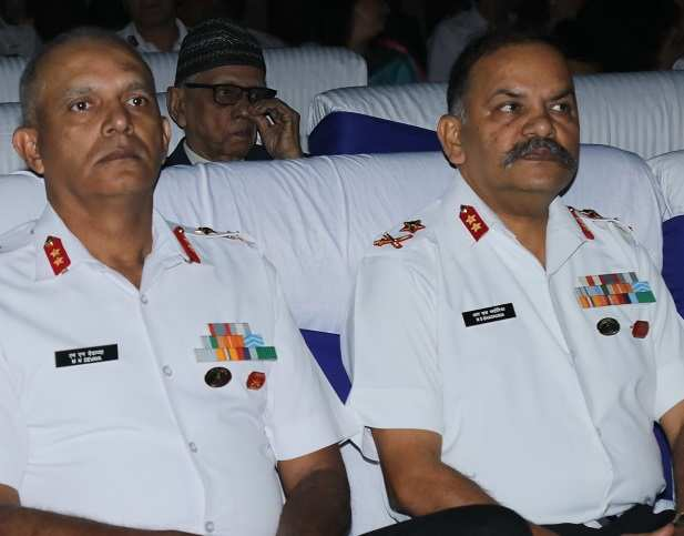 Maj Gen MN Devaya, Maj Gen RS Bhadauria