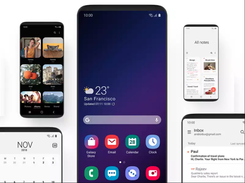 Samsung's Android 9 Pie based OneUI is coming to these older Galaxy smartphones - Mobiles News   Gadgets Now