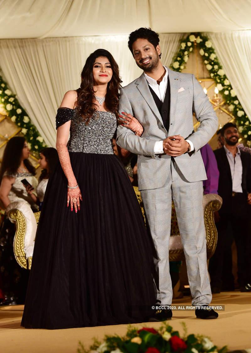 Rajith Menon and Sruthy Mohandas' star-studded wedding