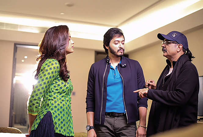 Ishita Dutta, Shreyas Talpade and Ashwini Chaudhary (BCCL)