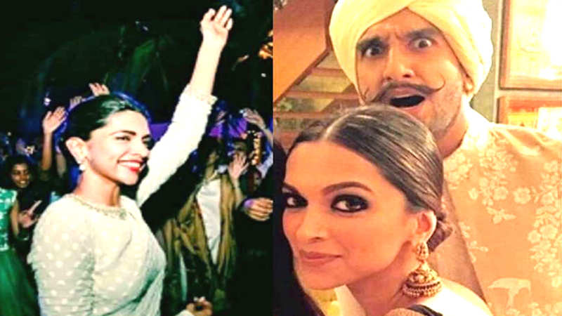 Deepika Padukone and Ranveer Singh tie the knot in Italy