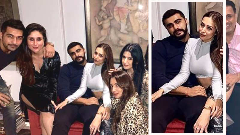 Malaika Arora and Arjun Kapoor get cosy at a party, pic goes viral