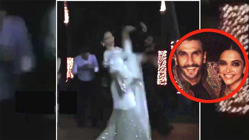 Leaked video of Deepika Padukone and Ranveer Singh dancing together