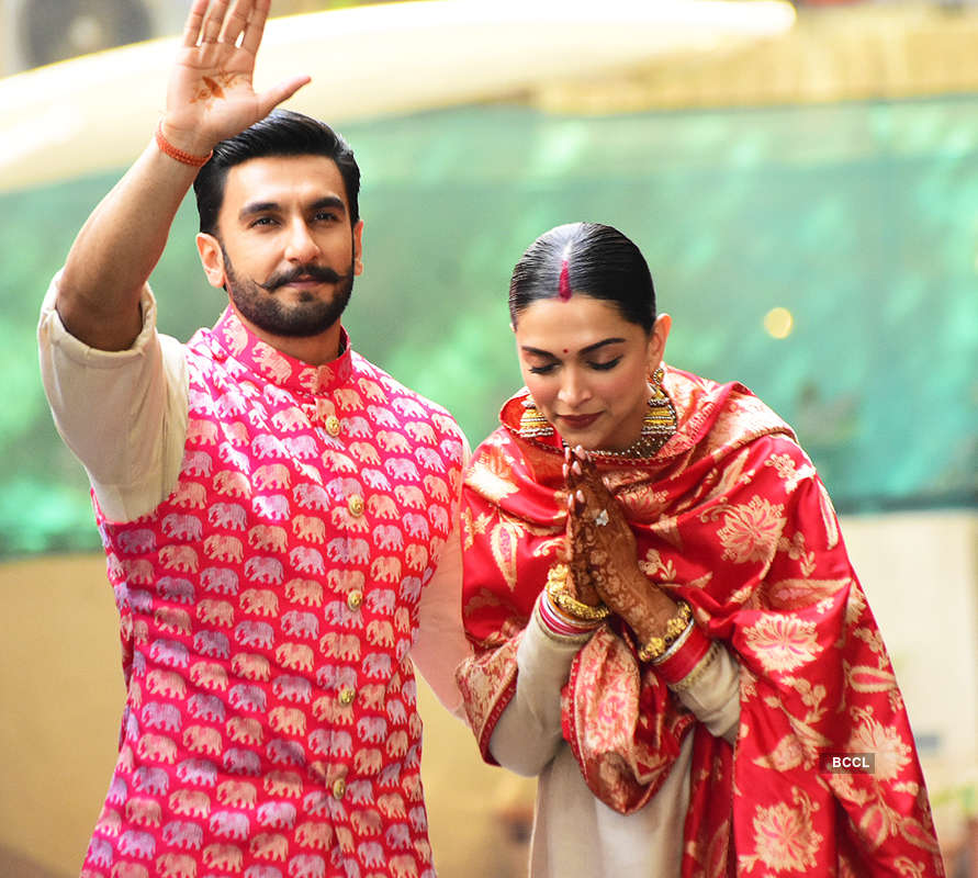 Deepika Padukone and Ranveer Singh share pictures from ...