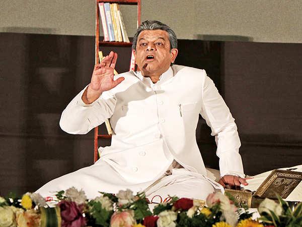 Vinay Verma at LLF (BCCL/ Aditya Yadav)