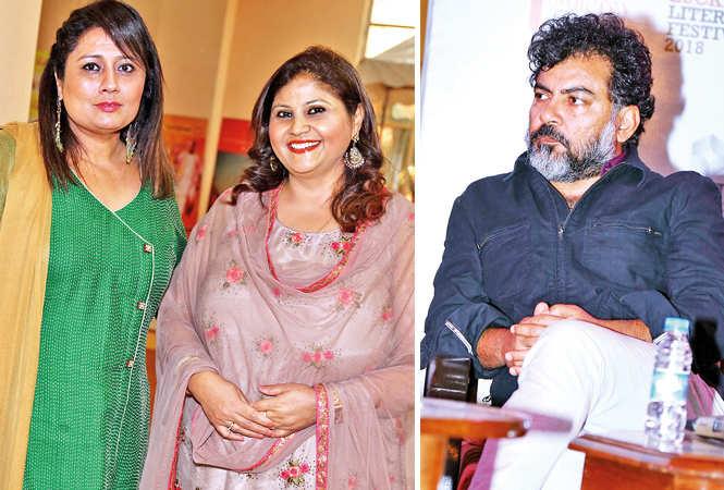 Deepti, Parul and Danish Hussain at LLF (BCCL/ Aditya Yadav)