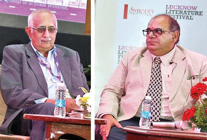 Dr V Srinivas and Shobhit Chawla at LLF (BCCL/ Aditya Yadav)