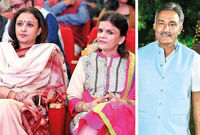 Aradhana Misra, Mrinalini Pandey and Anurag Mishra (BCCL/ Aditya Yadav)