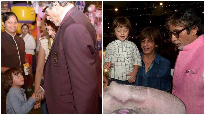 AbRam is convinced that Amitabh Bachchan is Shah Rukh Khan's father