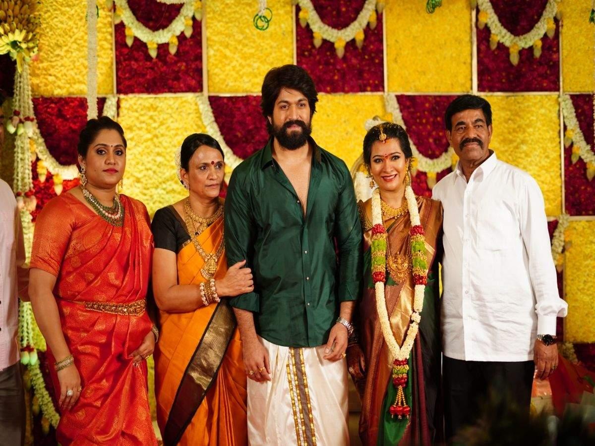 Yash and Radhika Pandit's baby shower celebrations Photos