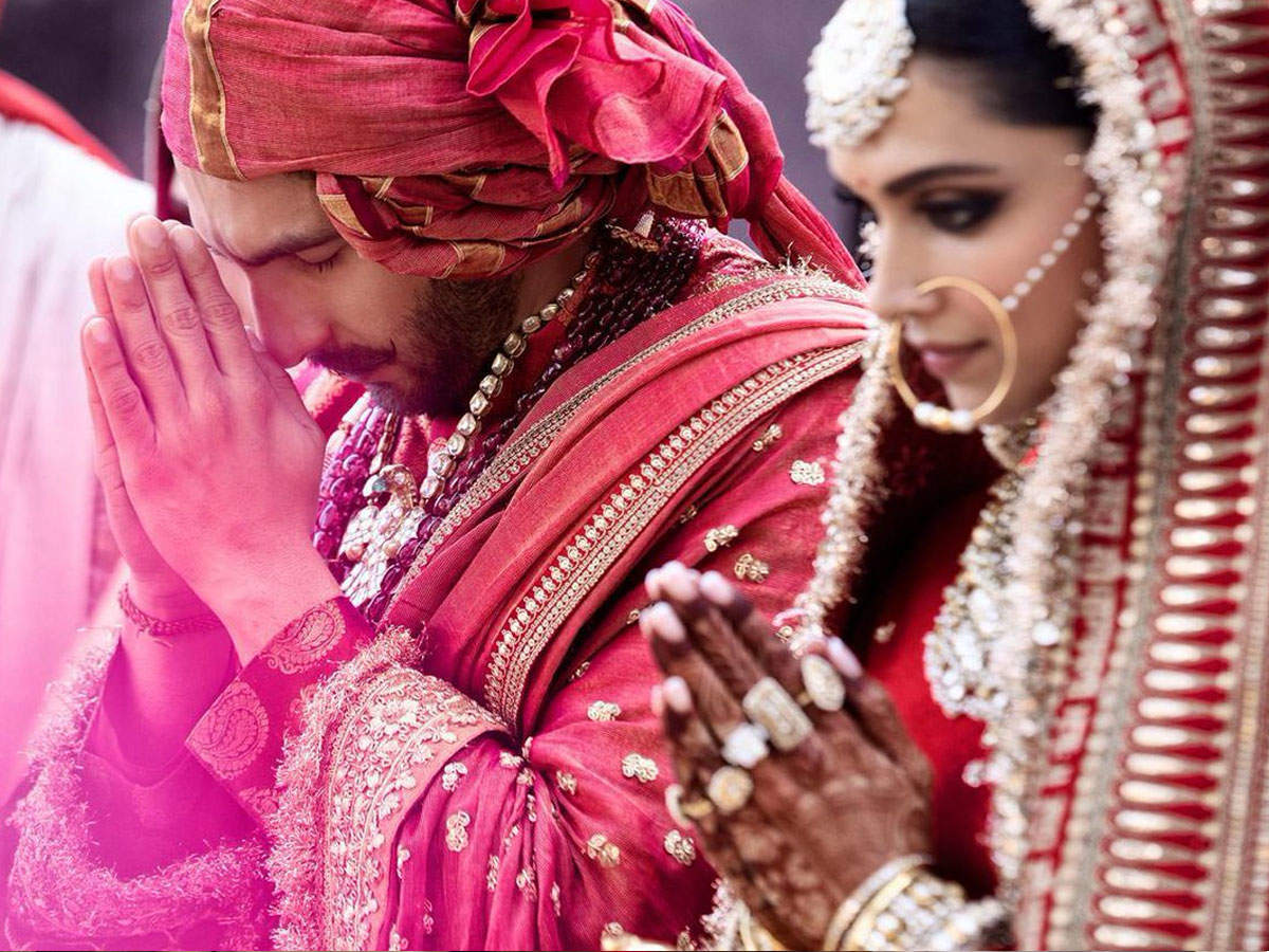 Deepika Padukone and Ranveer Singh marriage images, pictures, photos, video