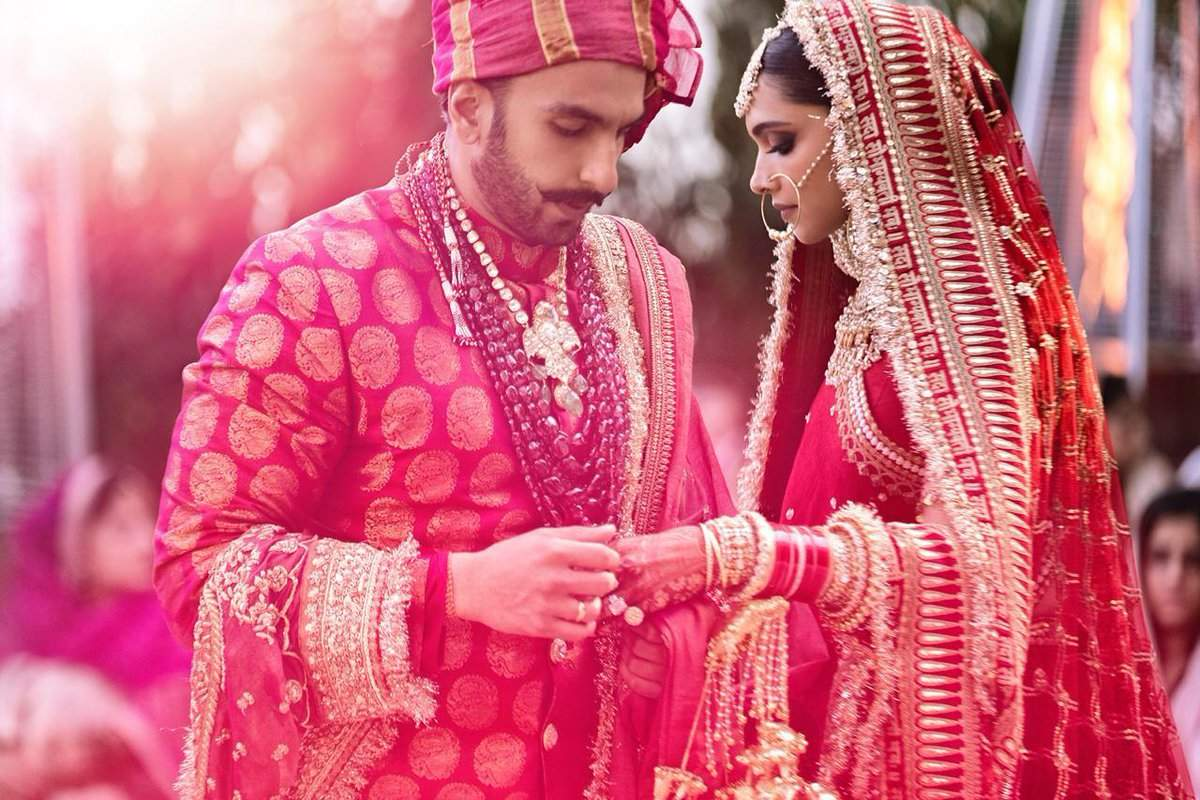 Deepika Padukone and Ranveer Singh marriage photos, marriage images, pictures, wallpapers, video
