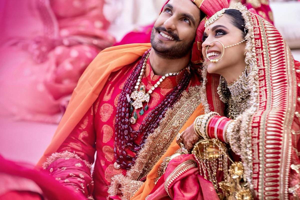 Ranveer Singh and Deepika Padukone marriage pictures, wallpapers, photos, images