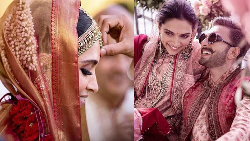 Deepika Padukone and Ranveer Singh's latest wedding photographs are viral on the internet