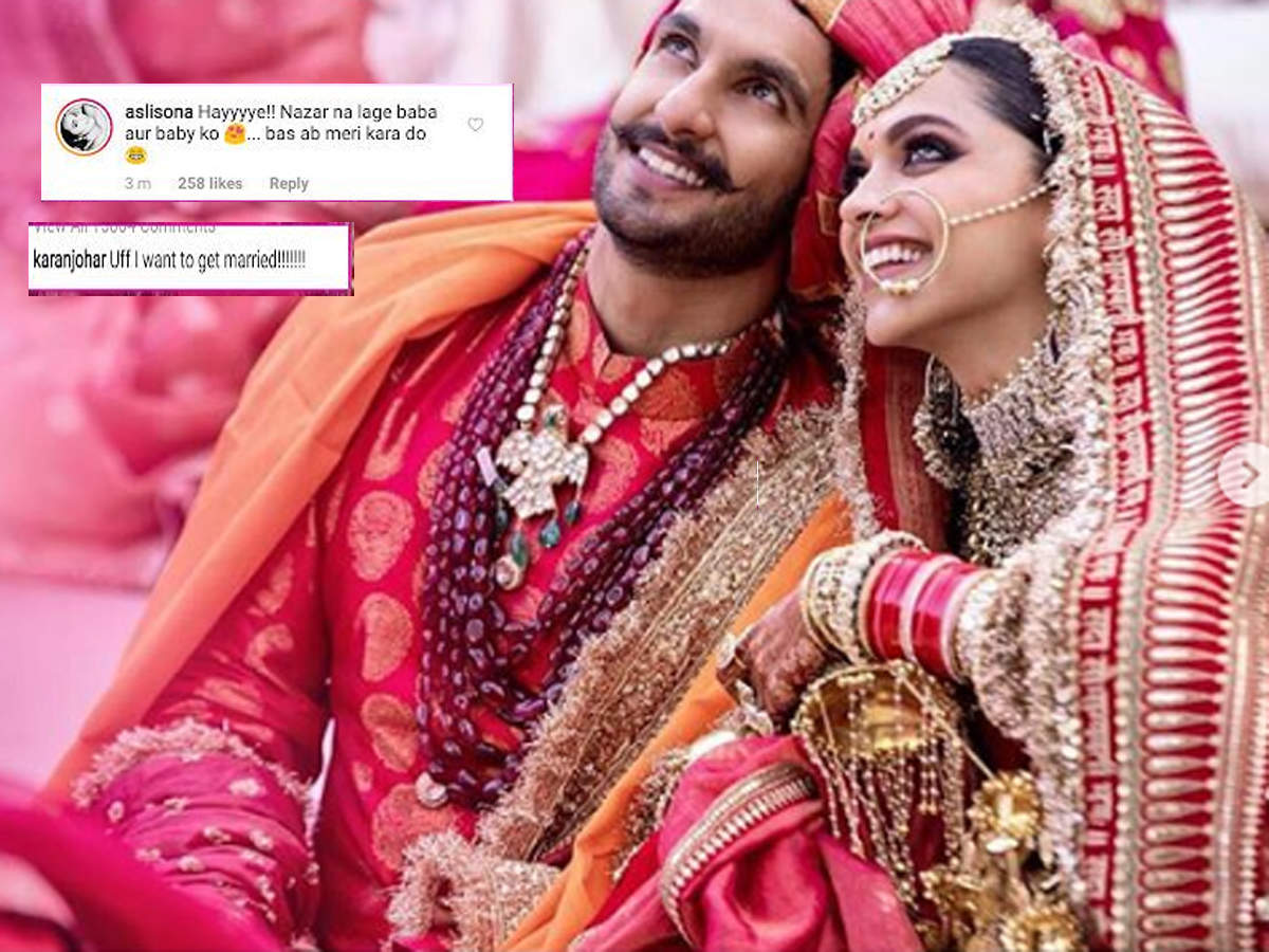 Ranveer Singh and Deepika Padukone wedding pictures, marriages images, photos