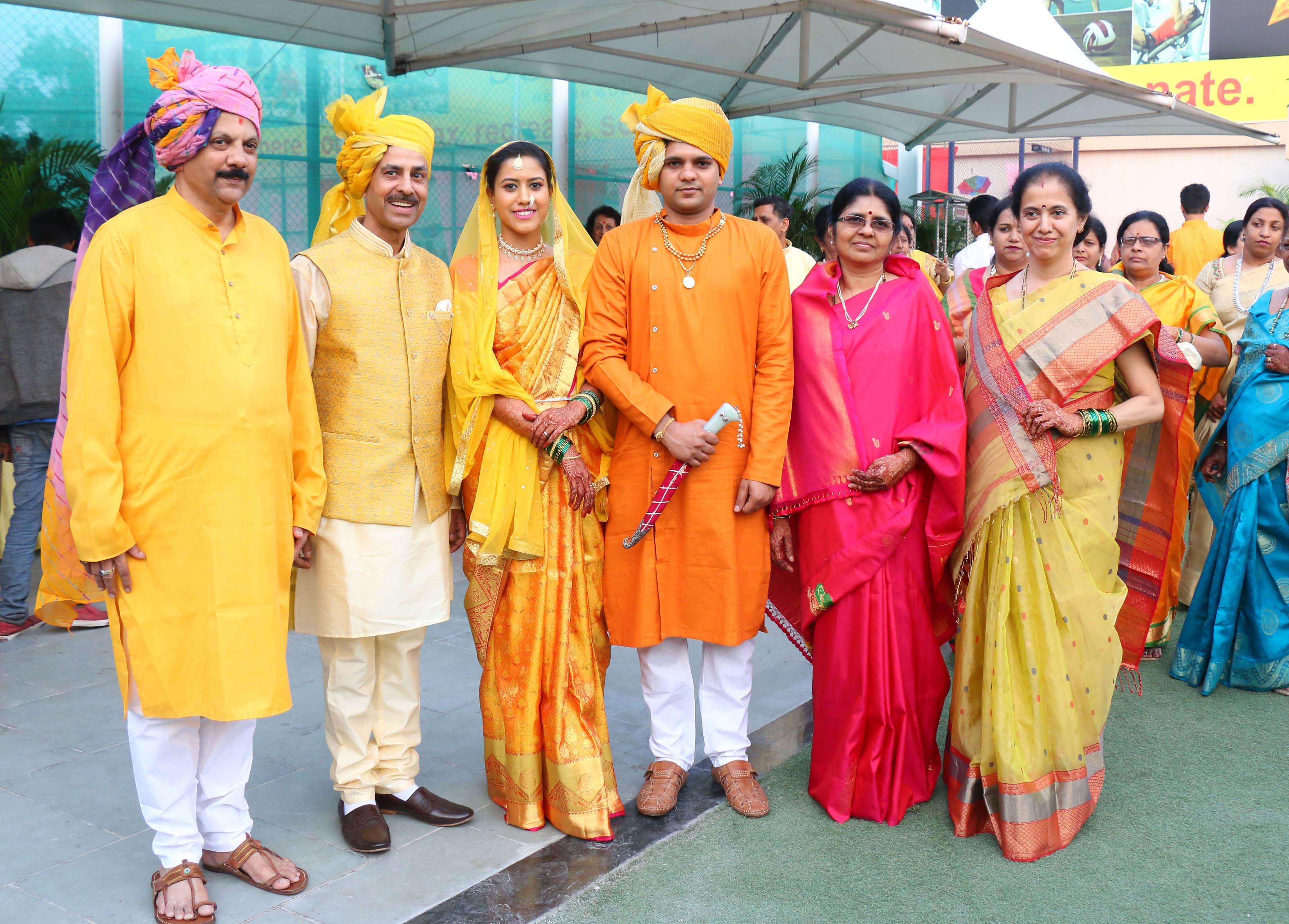 Haldi ceremony held yesterday (3)