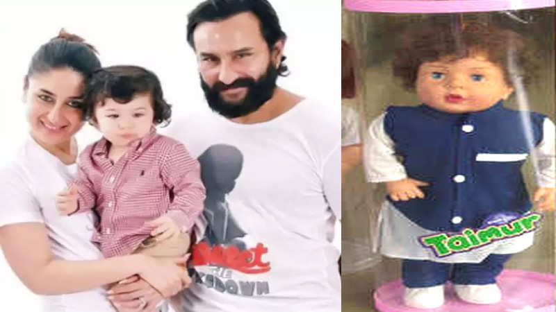 Kareena Kapoor and Saif Ali Khan react on Taimur-styled doll