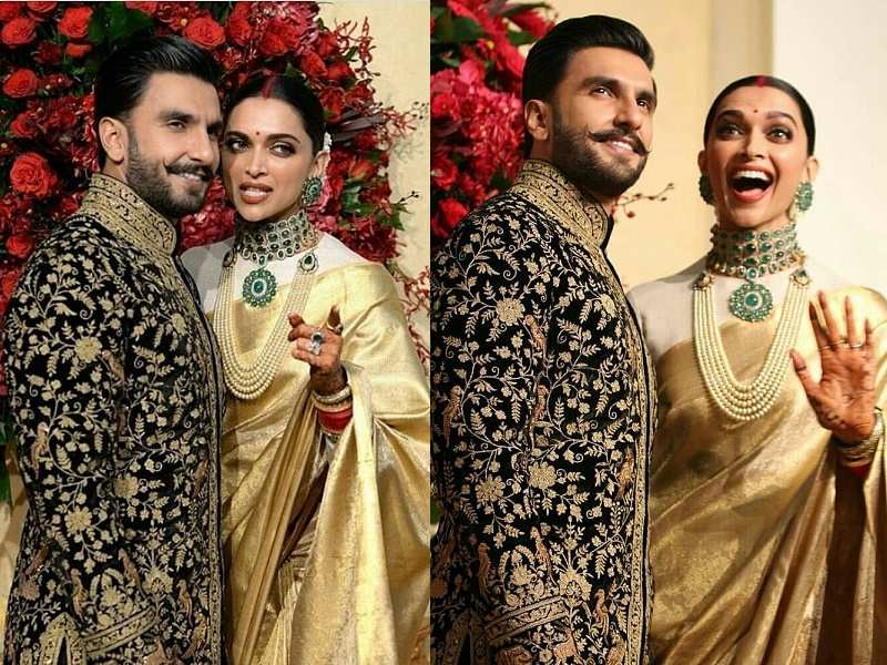 Ranveer Singh And Deepika Padukone Wedding Reception Photos Videos
