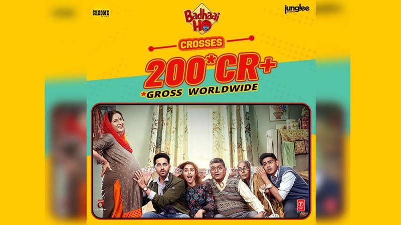Sanya Malhotra and Ayushmann Khurrana starrer crosses Rs 200 crore mark