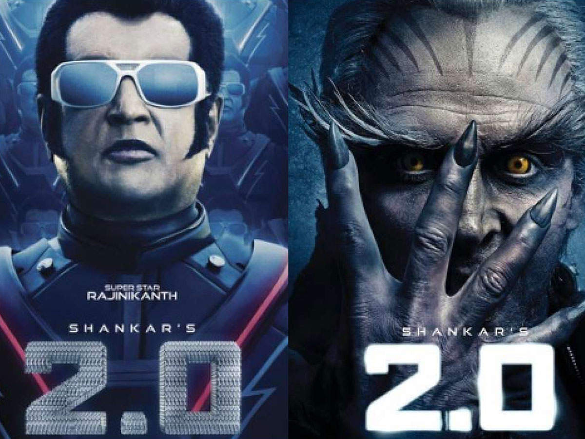 2 0 Rajinikanth And Akshay Kumar Starrer To Have A Record Breaking Release In India