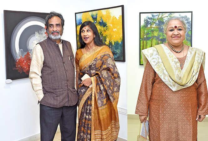 (L) Anant and Kunjshree Jauhari (R) Kirti Narain (BCCL/ Farhan Ahmad Siddiqui)