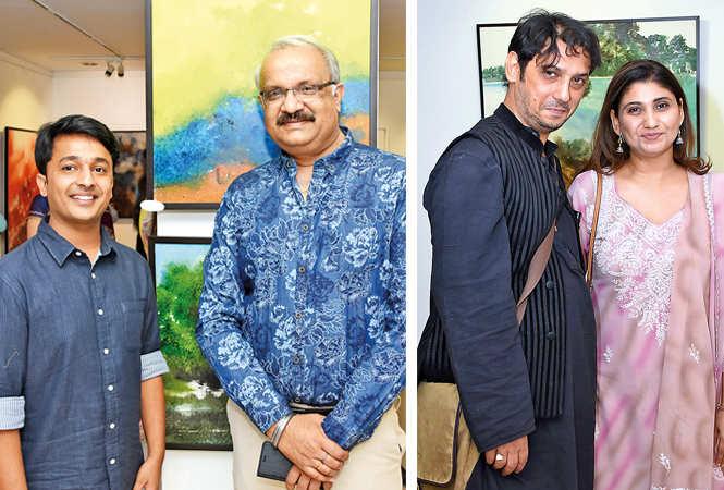 (L) Shashwat Pathak and Pankaj Gupta (R) Murad Ali and Arshi Ahmad (BCCL/ Farhan Ahmad Siddiqui)