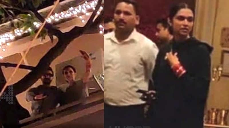 Leaked! Deepika Padukone and Ranveer Singh's Bengaluru reception pictures