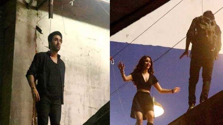 Leaked! Alia Bhatt and Ranbir Kapoor's pic while shooting 'Brahmastra'