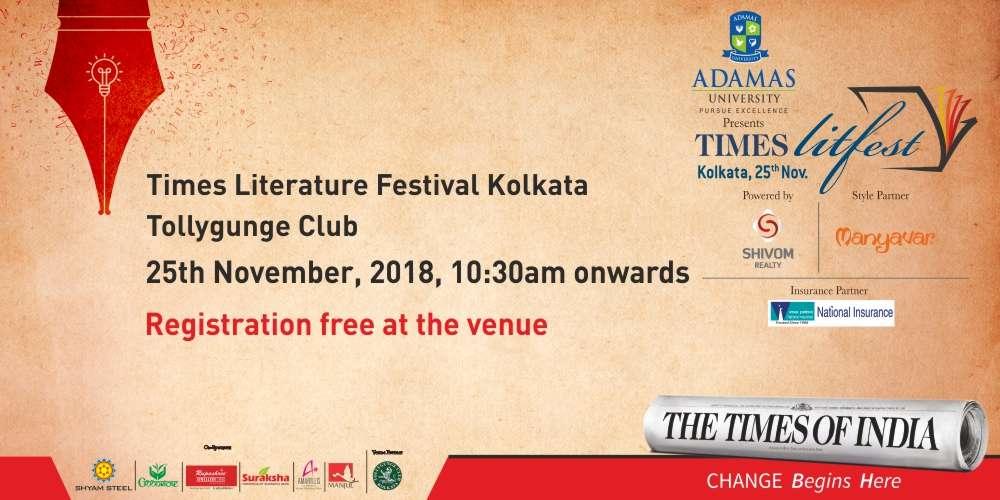 Times LitFest Kolkata 2018